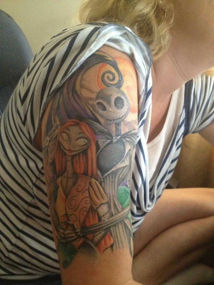 20 39 nightmare before christmas 39 tattoos you 39 ll totally want