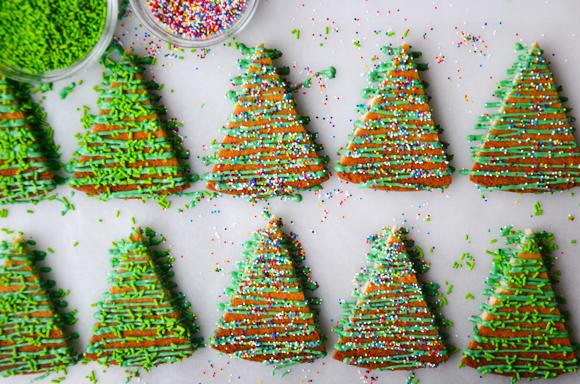 Chocolate Brown Christmas Trees