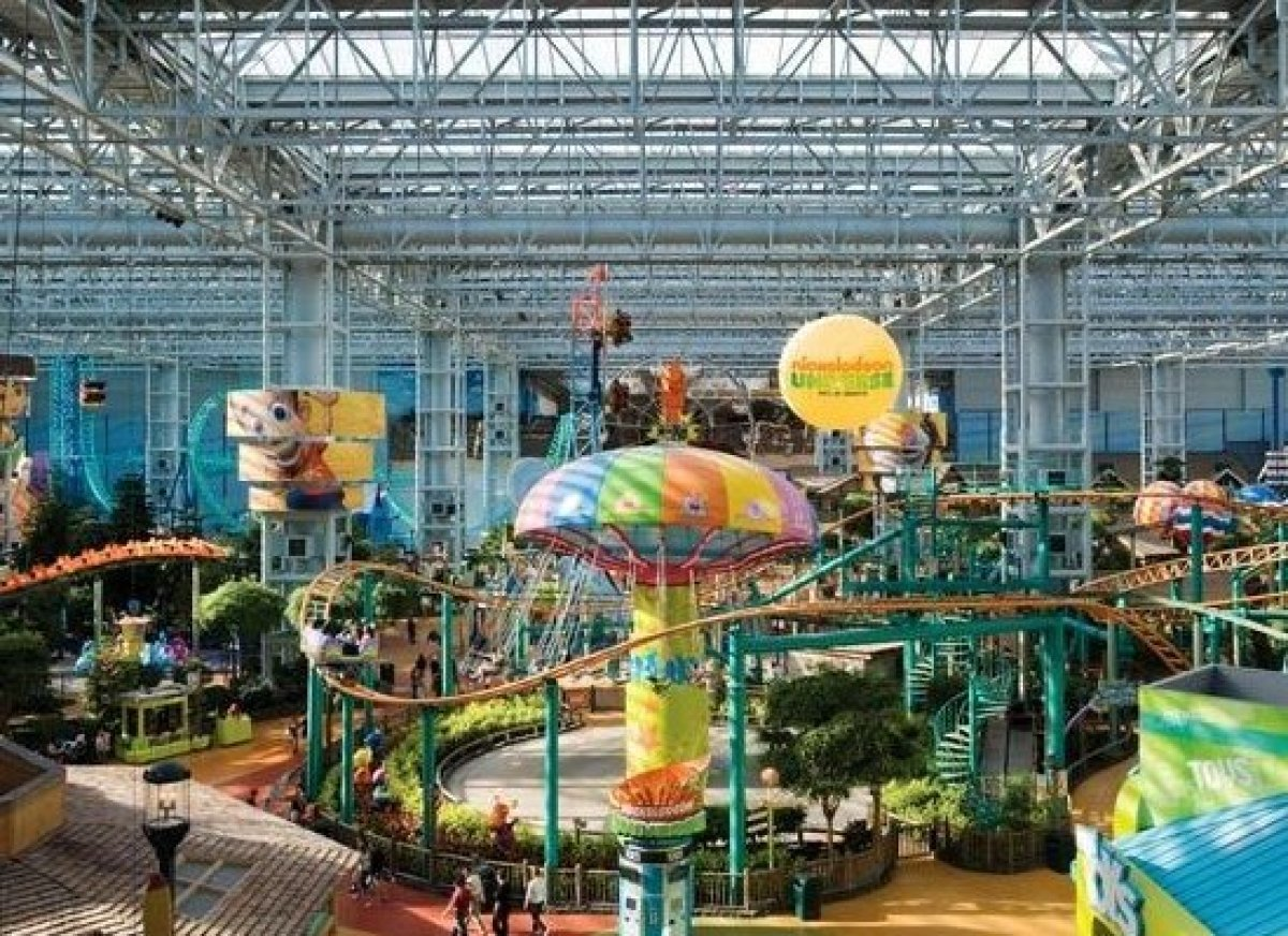 Largest Indoor Theme Park
