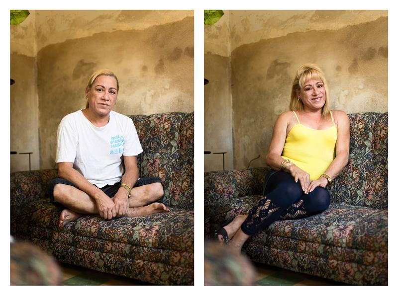 фотографии транссексуалов до и после