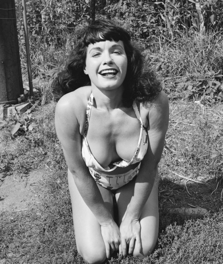 Betty Page Nude Photos 93