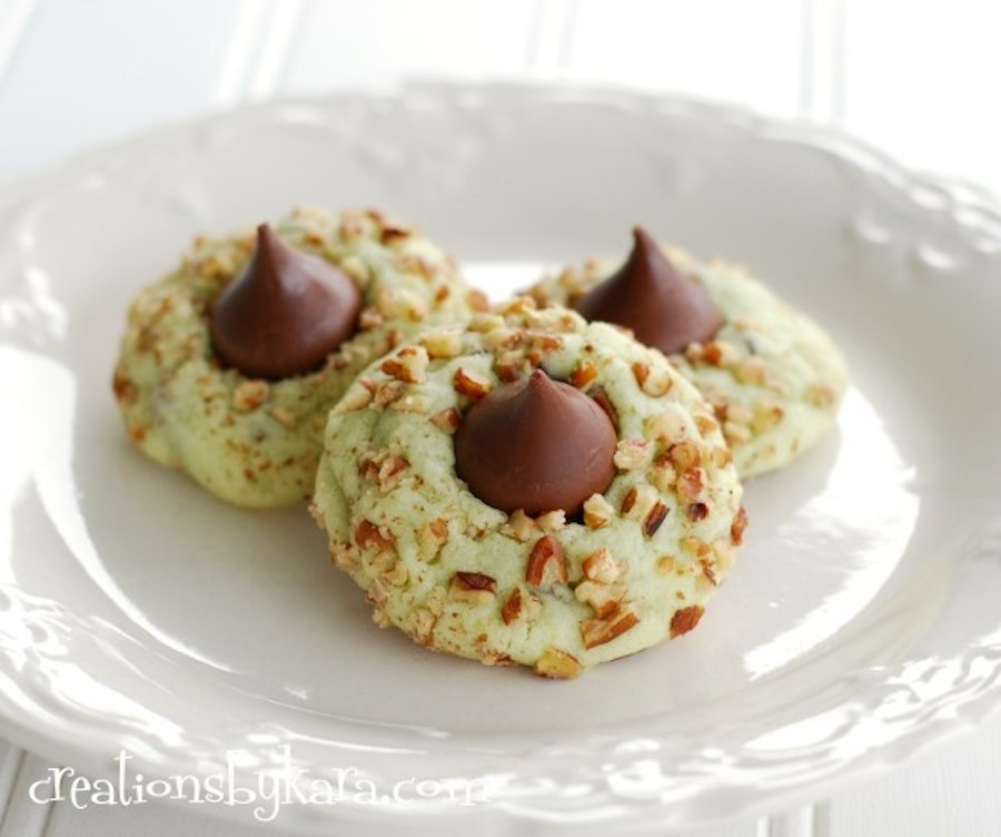 Cookies with kisses recipe