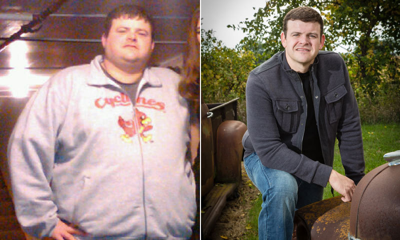 Kevin ramer weight loss expect muscle