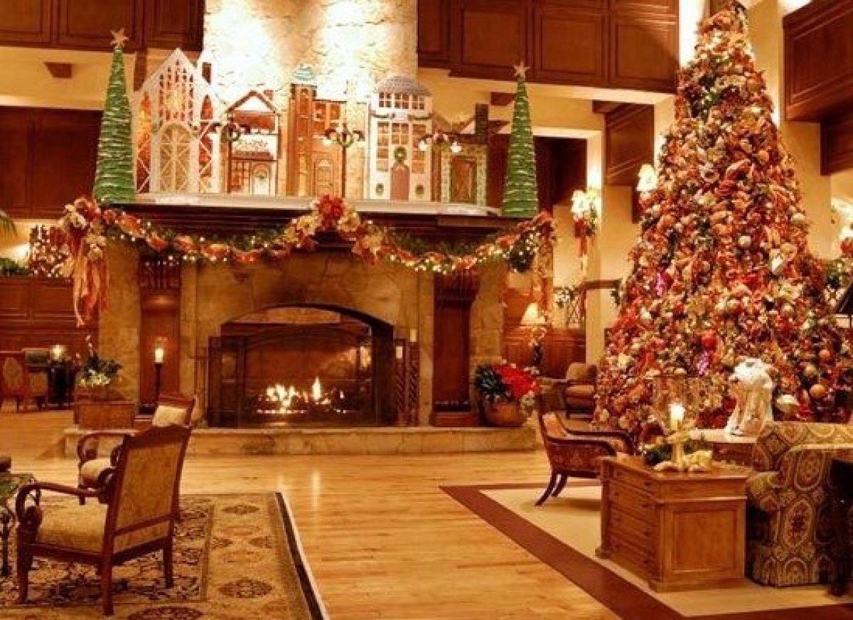 Disney hotel christmas decorations - The Houstonian Hotel Club Spa