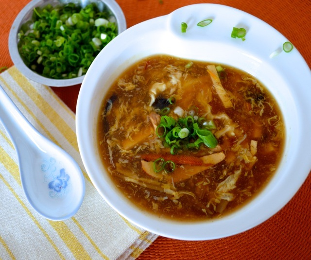 11 hot and sour soup chinese