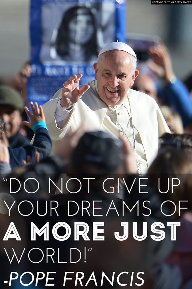 Pope Francis Education Quotes Pope Francis Quotes Getty