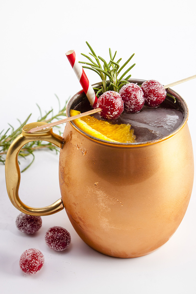 Get the Holiday Mule (Ginger Beer, Gin Or Vodka) recipe from Home ...