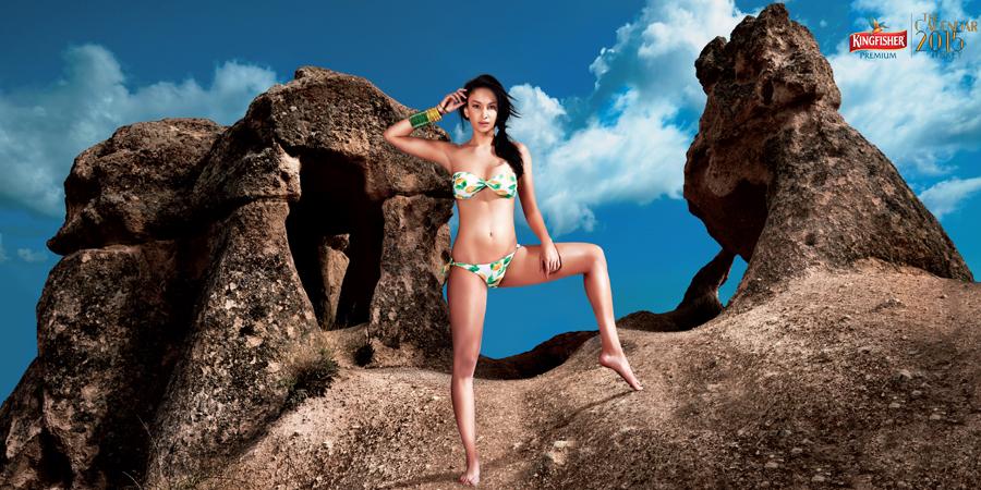 Elena Fernandes - Kingfisher Calendar 2015 | www.piclectica.com #piclectica