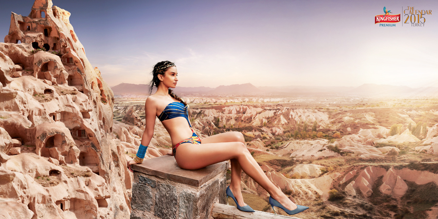 Elena Fernandes - Kingfisher Calendar 2015 | www.piclectica.com #piclectica