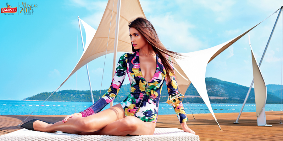 Keisha Lall - Kingfisher Calendar 2015 | www.piclectica.com #piclectica