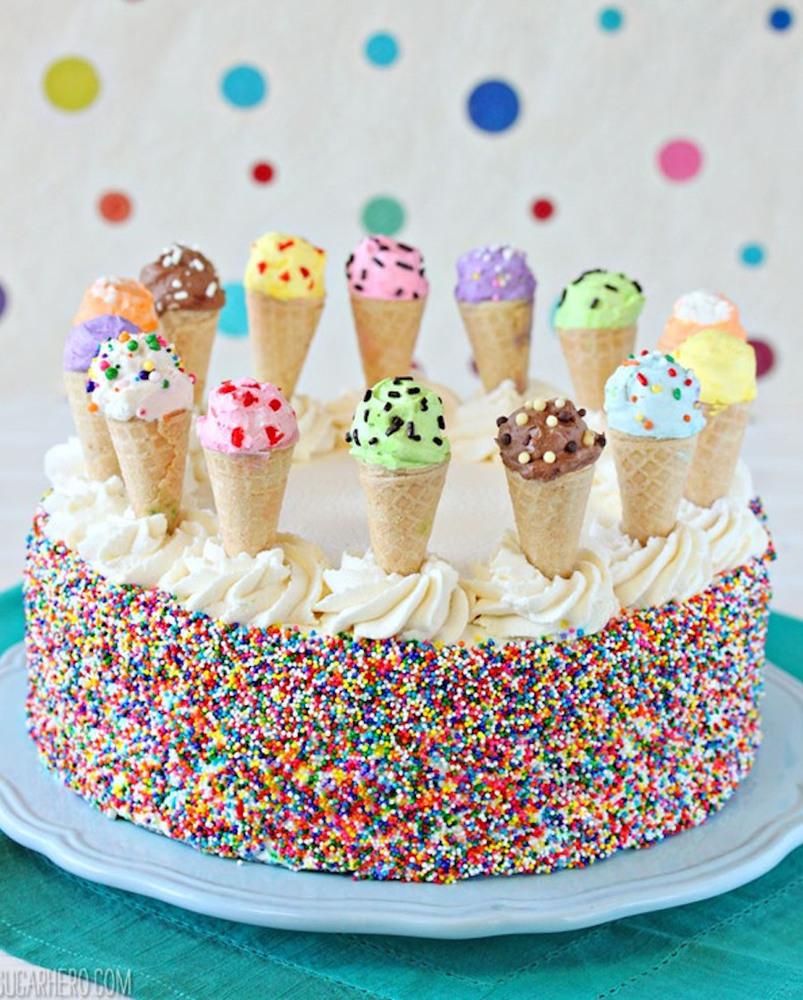 Как сделать из мороженого крем для торта