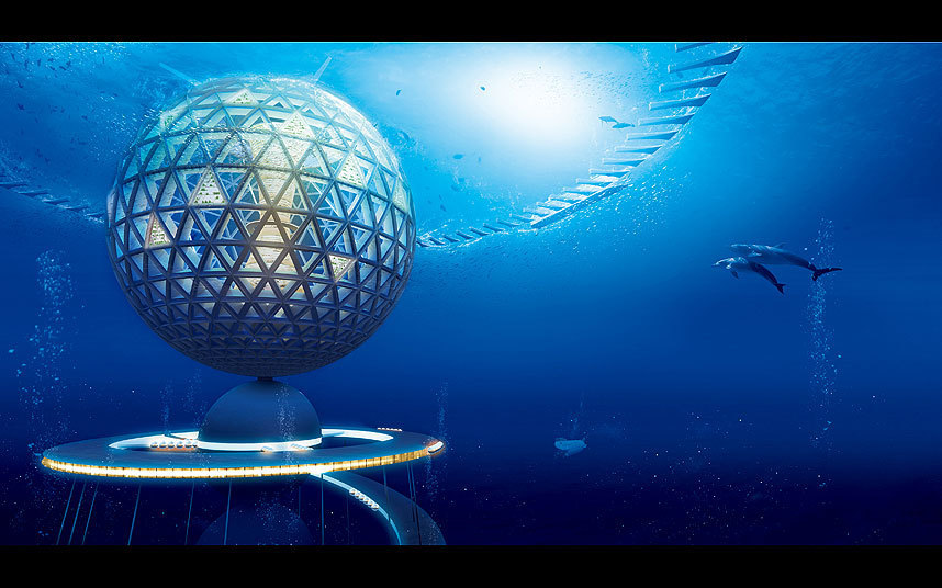Japanese Reveal Design For First Underwater City. This Is Breathtaking. Slide_394232_4822530_free