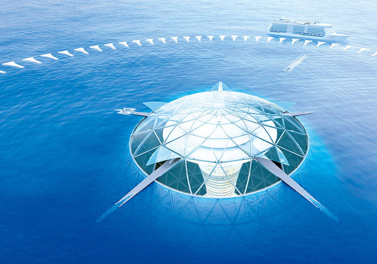 Japanese Reveal Design For First Underwater City. This Is Breathtaking. Slide_394232_4822532_free
