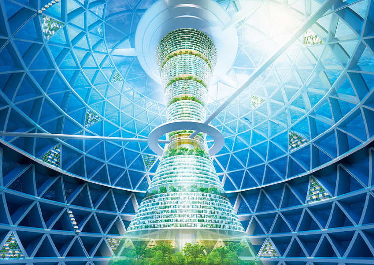 Japanese Reveal Design For First Underwater City. This Is Breathtaking. Slide_394232_4822534_free