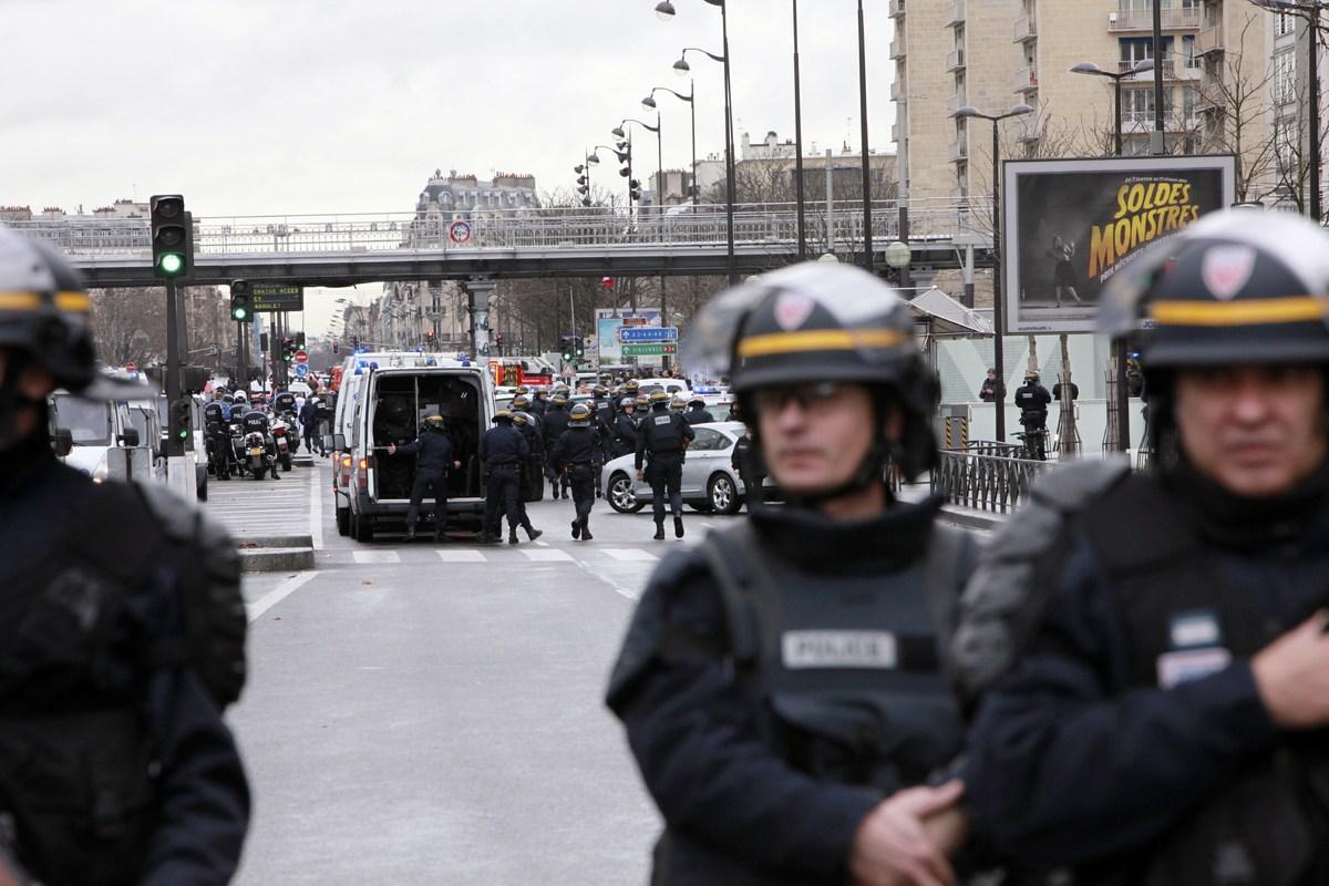 charlie hebdo paris shooting quebec newspapers publish muhammad loic venance via getty images