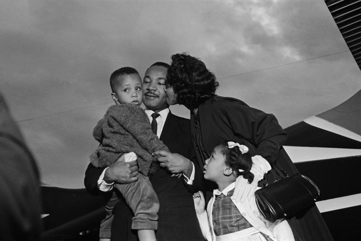 These Incredible Family Photos Of Mlk Show A Side Of Him