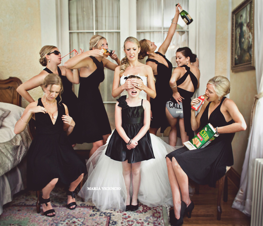 awesome bridesmaids photo ideas