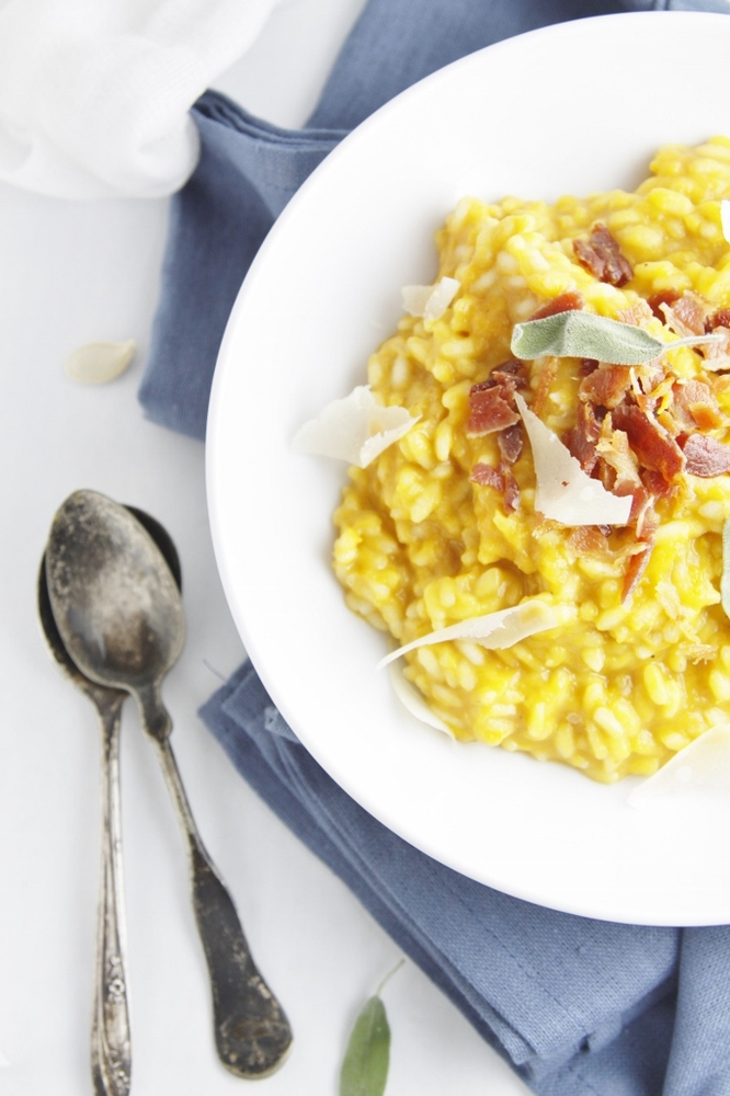 ... the Roasted Pumpkin Risotto With Pancetta recipe from bell'allimento
