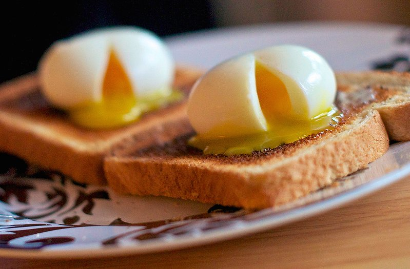 over hard eggs how to make