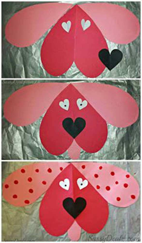 23 Easy Valentines Day Crafts That Require No Special Skills – Easy Valentine Card