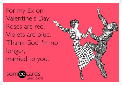 10 AntiValentines Day Cards That Are Perfect For Your Ex – Blunt Cards Valentines