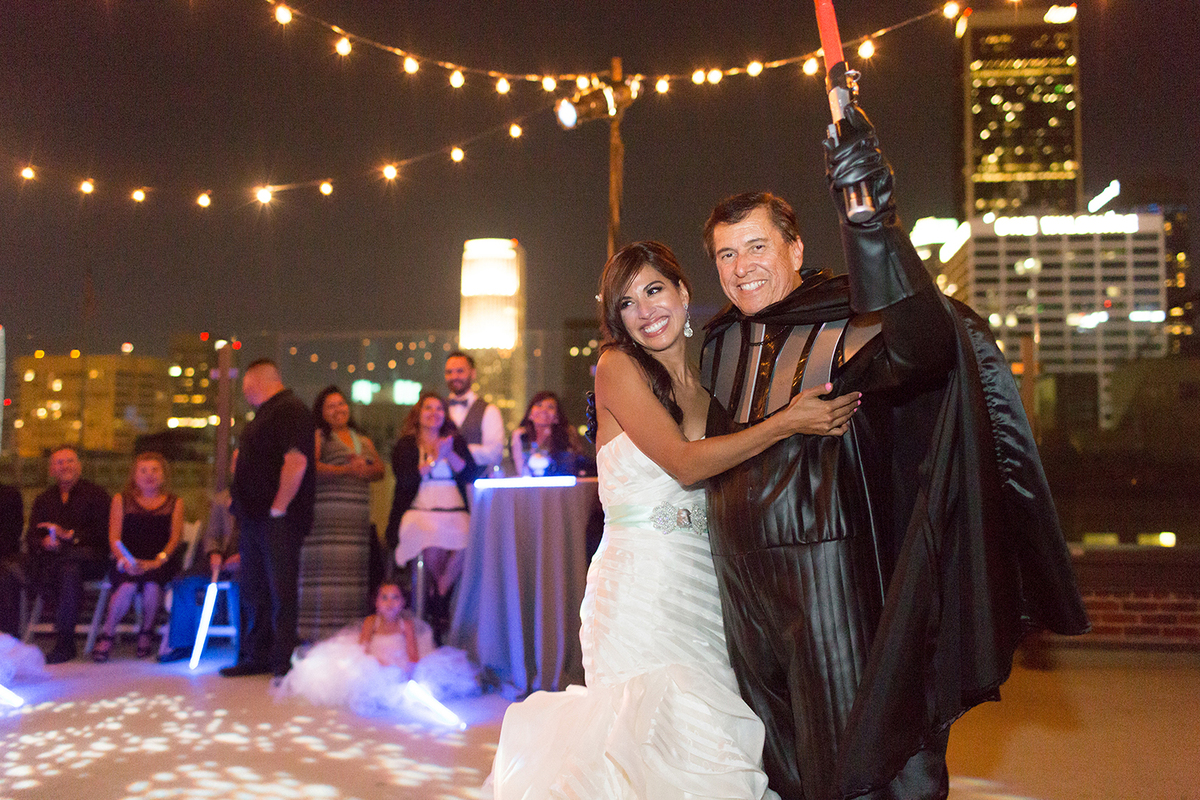 This Star Wars Wedding Is Equal Parts Geek And Chic