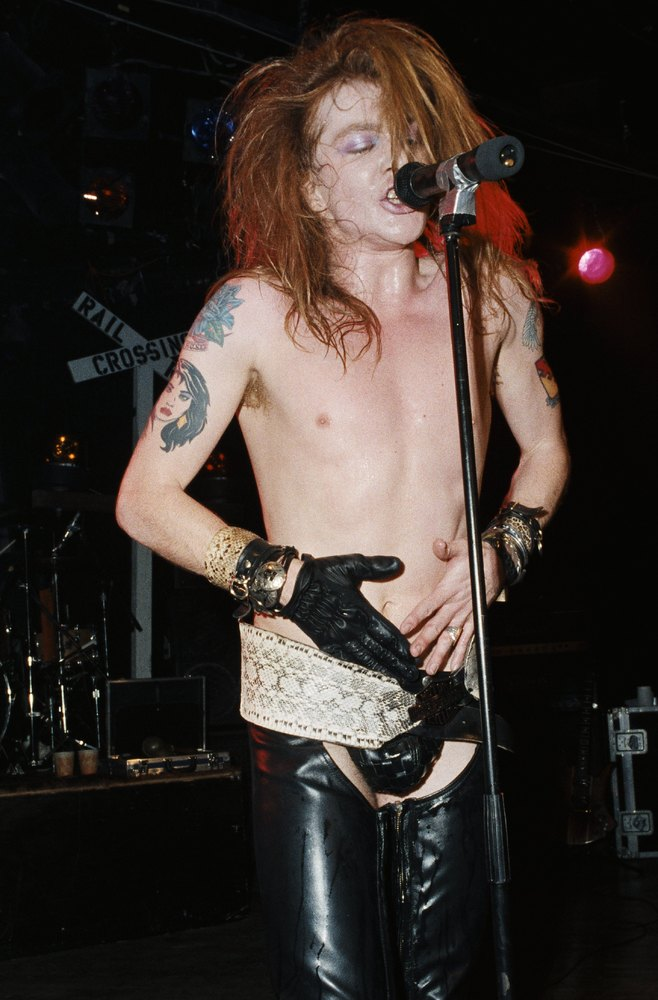 In Celebration Of Axl Rose S Glorious Hair Moments