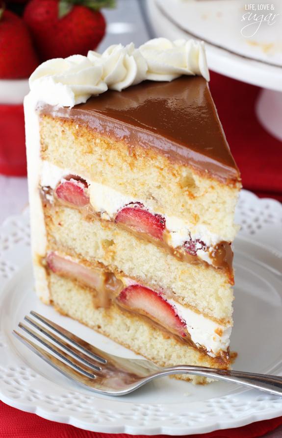 Dulce De Leche Layers Pound Cake Recipe