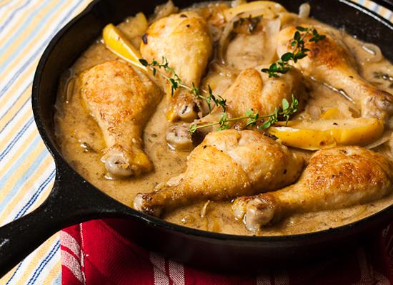 Потушить грудку на сковороде рецепт
