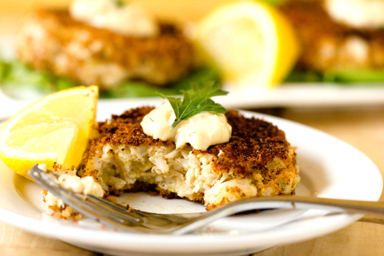 Get the Crab Cakes With Rémoulade Sauce recipe from Brown Eyed Baker