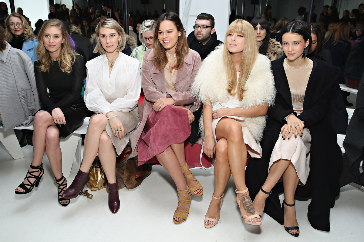 Aimee Song Front Row Fashion Week