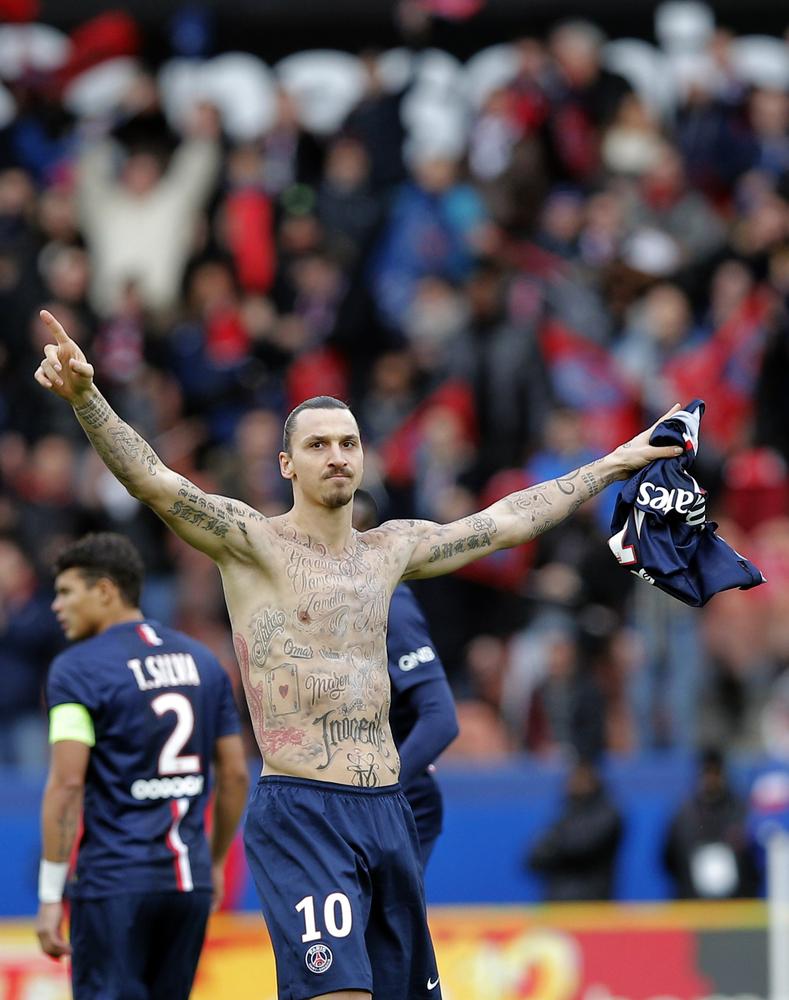 Zlatan Ibrahimović Has Fifty Names Tattooed On To His Body ... Zlatan Ibrahimovic