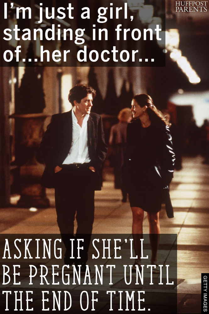 Very Famous Movie Quotes: 9 Classic Movie Quotes Reimagined By A Very, Very Pregnant