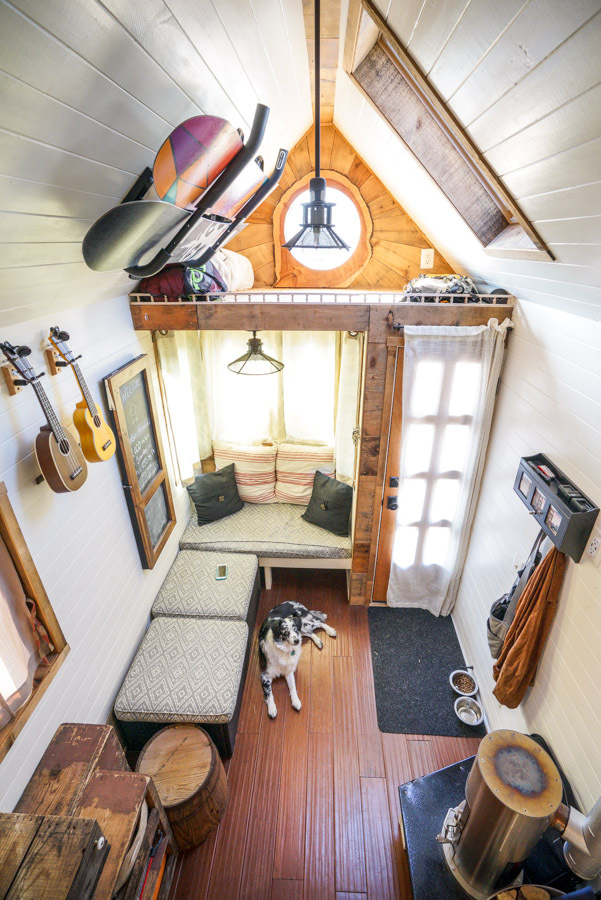 Couple Quits Day Jobs Builds Quaint Tiny Home On Wheels