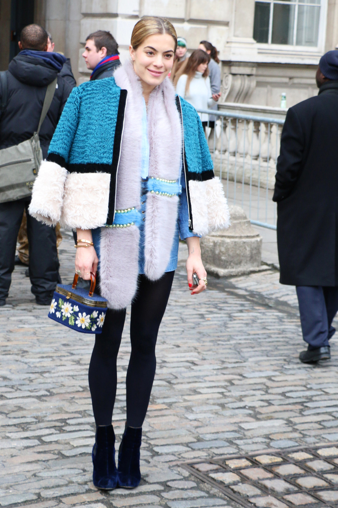 Fashion In London Today: London Fashion Week Trends: Faux Fur To Wear Right Now