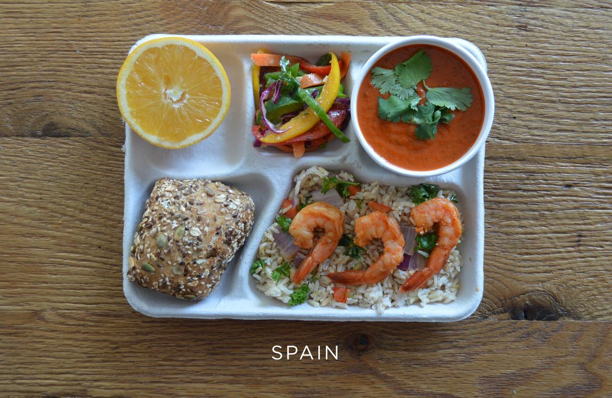Photos of school lunches from around the world will make american spain forumfinder Image collections