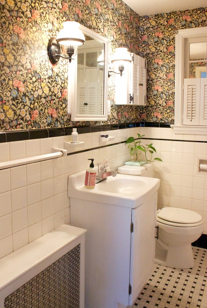 Bathroom Makeovers Tile this budget bathroom makeover proves little changes go a long way