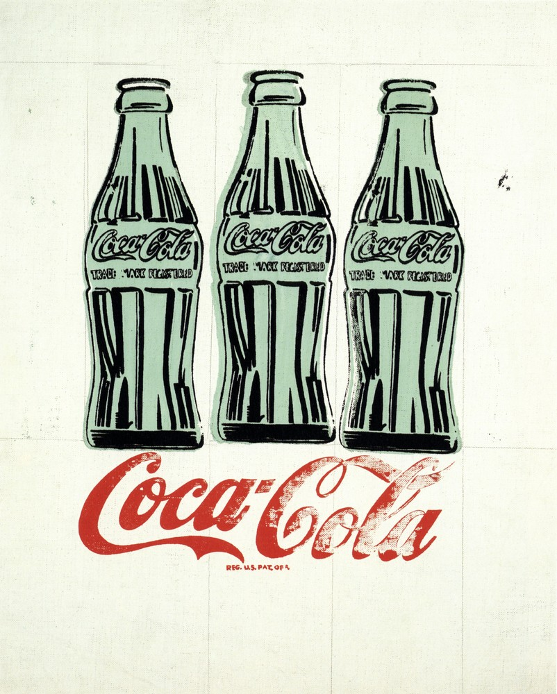 analysis of andy warhols coke bottles In the early-1960s, a glass contour bottle of coca-cola sold for 10 cents this month, andy warhol's 1962 painting of the iconic package sold for more than $57 million at a christie's auction in new york, usa.
