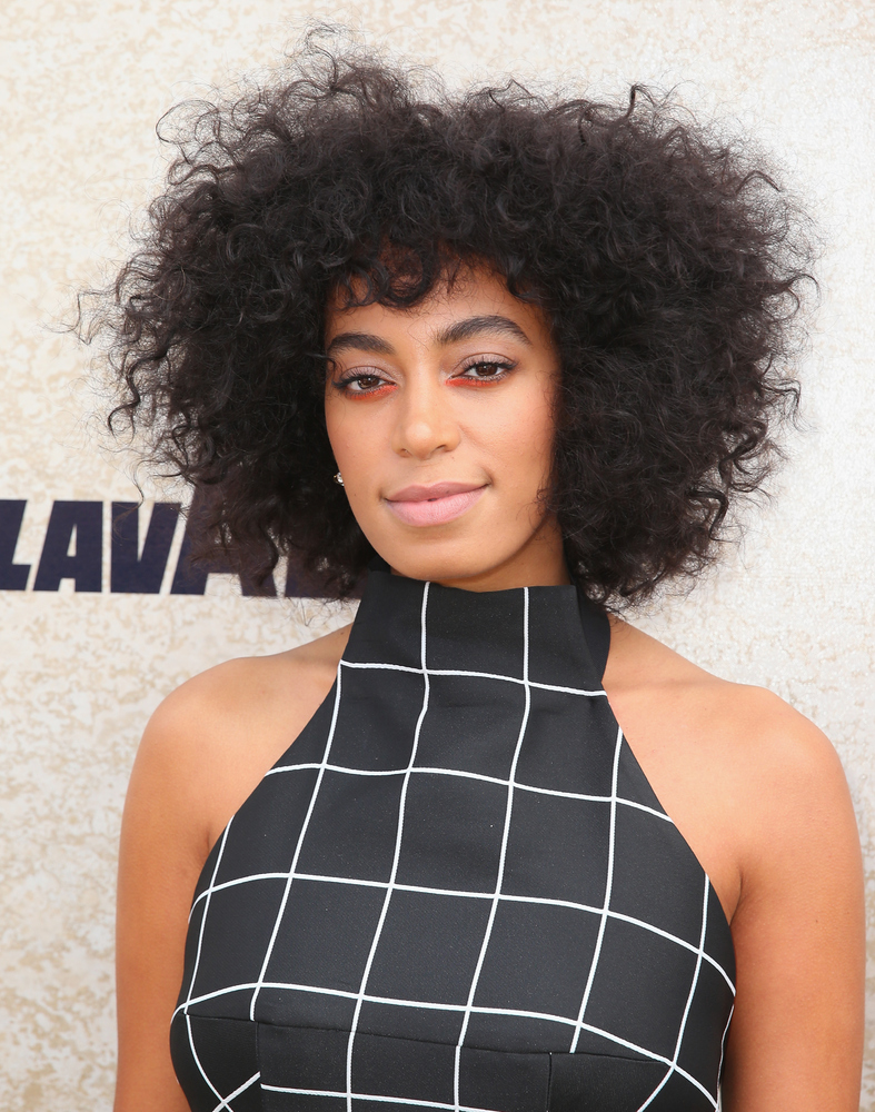 in praise of celebrities natural hair the huffington post scott barbour via getty images