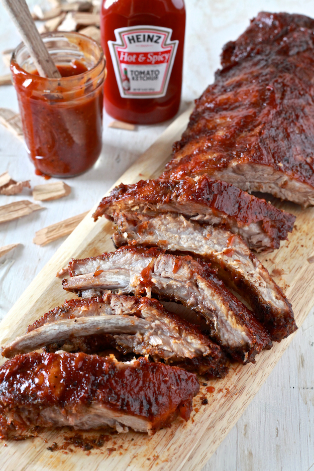 Cayenne Cinnamon Baby Back Ribs With Maple Glaze Recipe ...