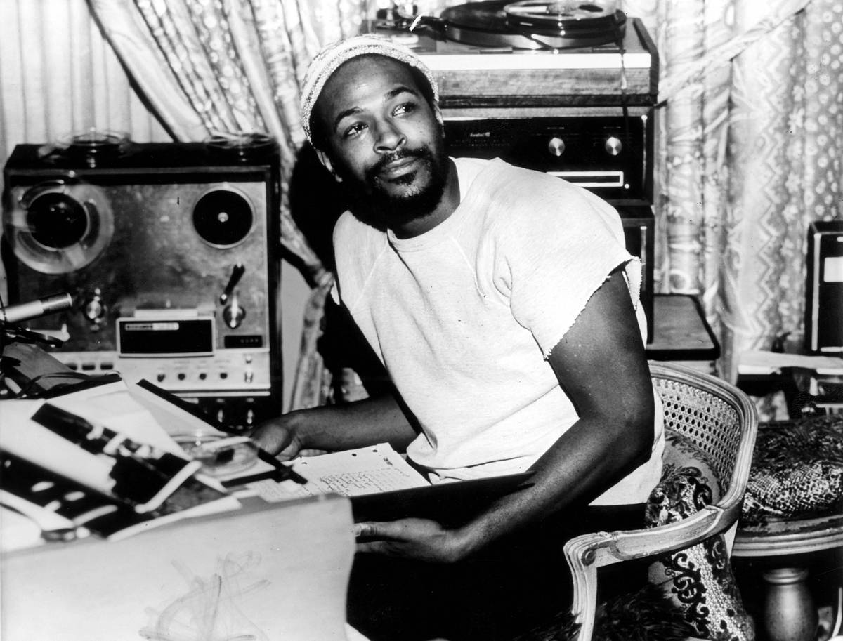 Marvin Gaye: 32 Iconic Pictures Of The Motown Legend