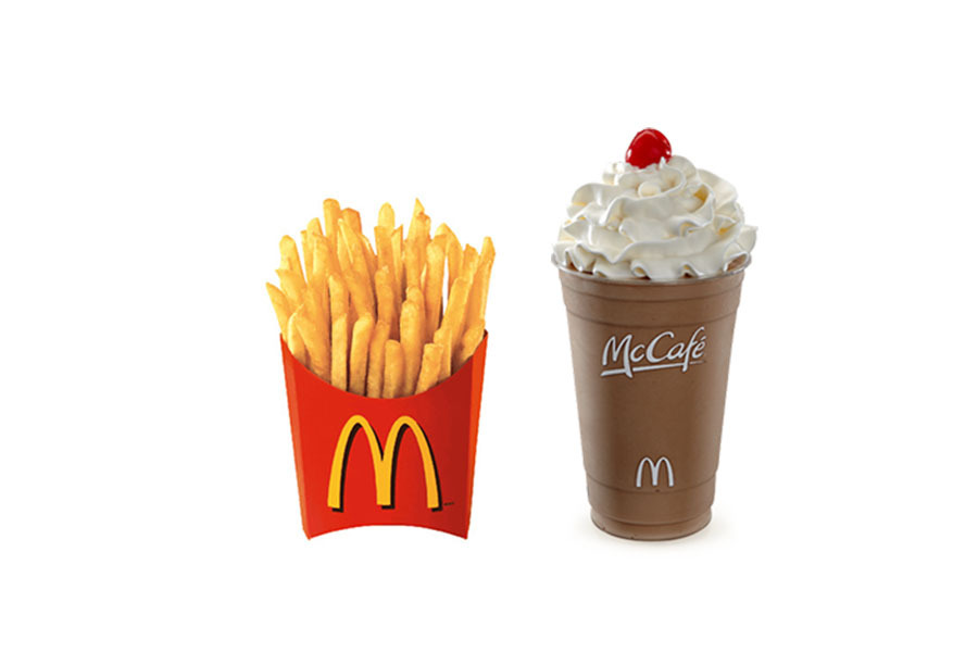 how to eat smart at McDonald's