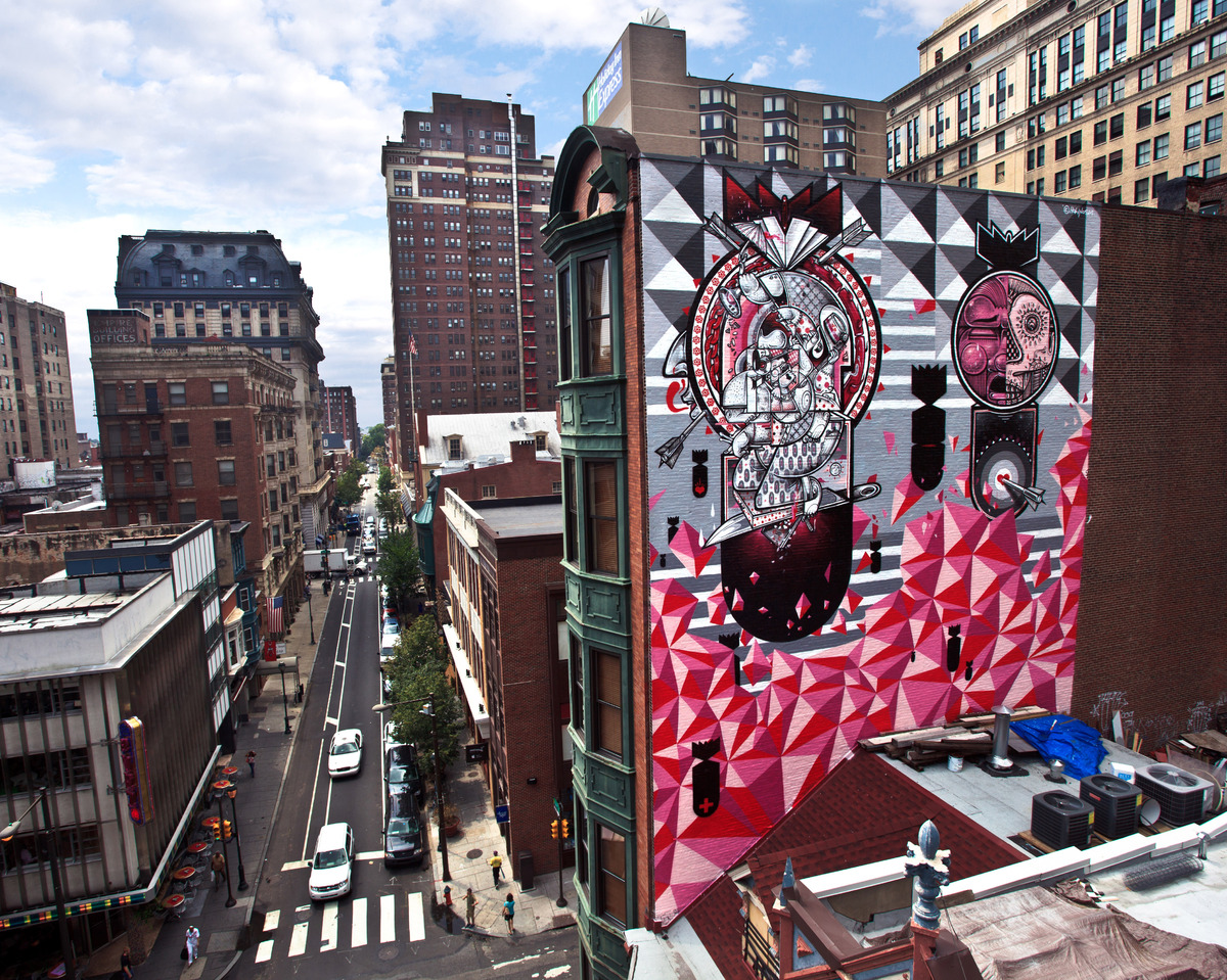 Street art isn 39 t forever but this google project is for City of philadelphia mural arts program