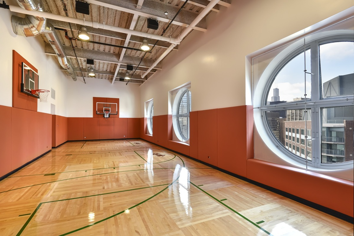 This million penthouse is the clear answer to your for Free inside basketball courts