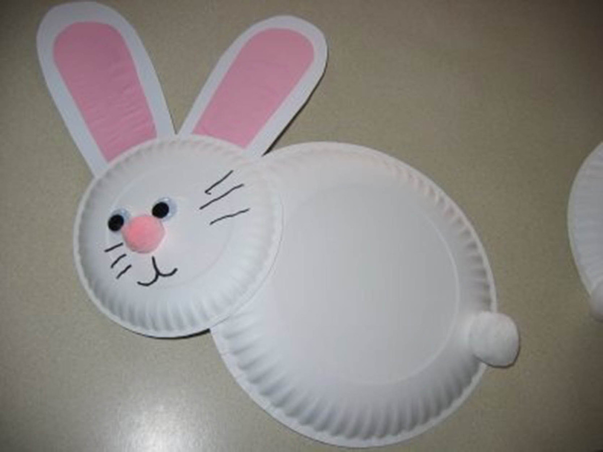 Easy easter bunny crafts - 29 Easy Easter Crafts That Won T Leave You With A Mess