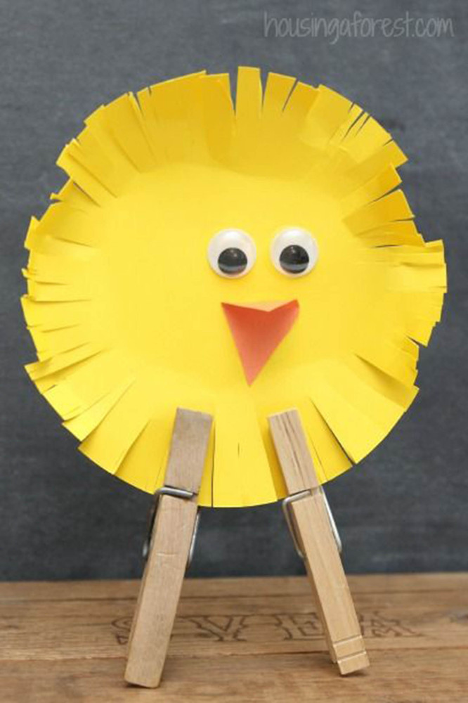 Easy easter crafts that won t leave you with a mess