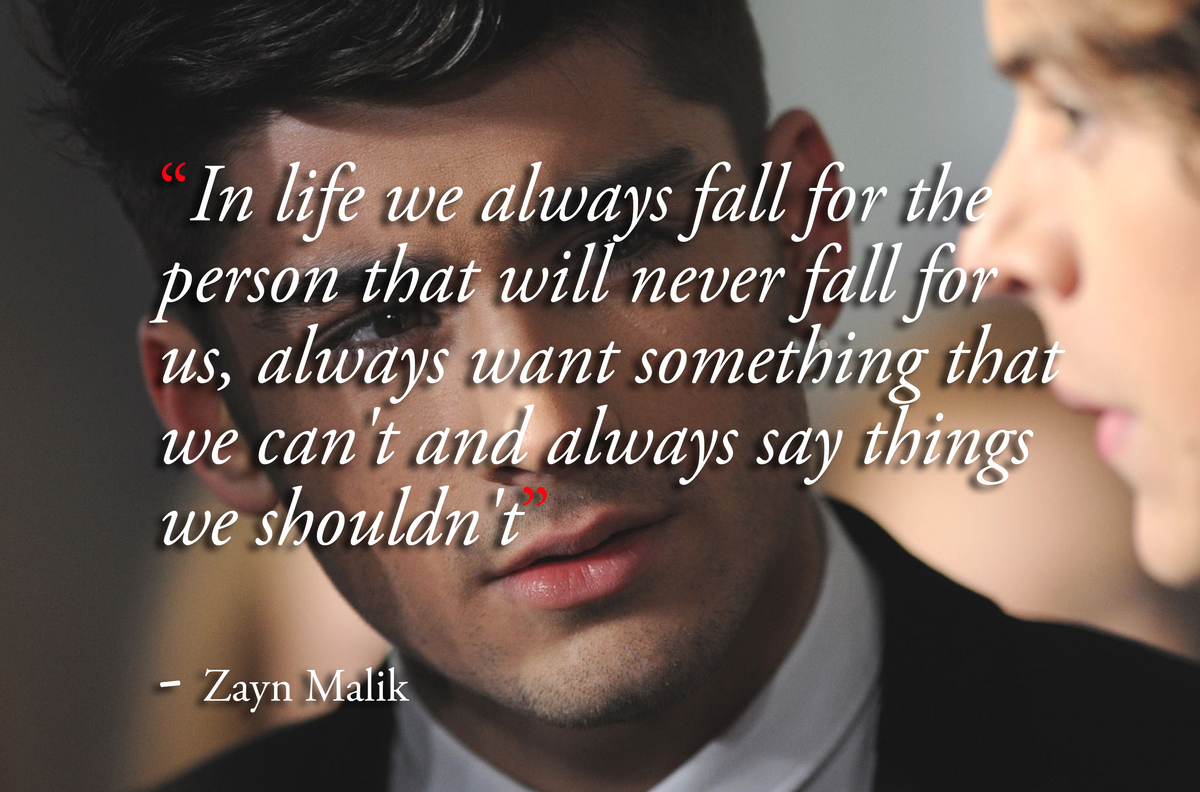 9 inspirational zayn malik quotes that will make any one