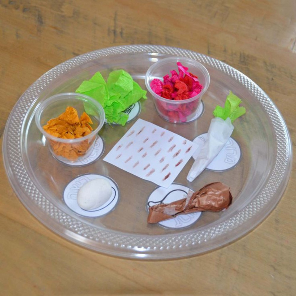 15 diy passover seder plates your kids will love to make for Passover crafts for sunday school