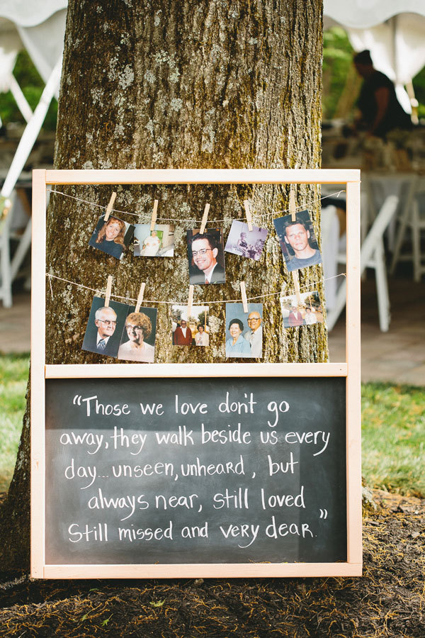 12 Heartfelt Ways To Include Lost Loved Ones In Your ...