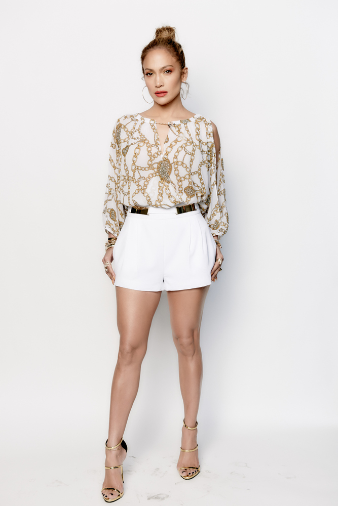 Michelle Obama Wows In... Jennifer Lopez Clothing